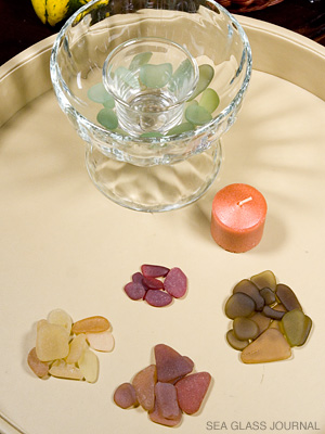 Sea Glass Glow Candle - Step 2