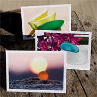 Sea Glass Photgraphy Notecards
