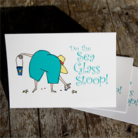 Sea Glass Stoop Notecards