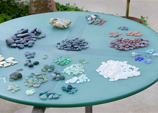 Sea Glass Collecting in Vieques, Puerto Rico