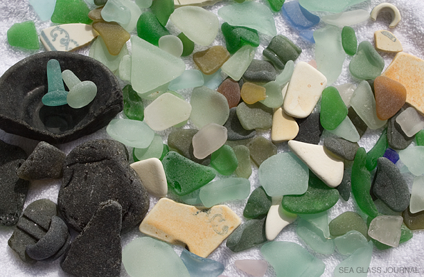 Bermuda Sea Glass - Alexandra Battery Beach Sea Glass