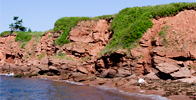 Sea Glass Vacation Destination - Prince Edward Island, Canada