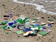 You can't take the sea glass with you.