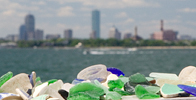 Sea Glass Vacation Destination - Spectacle Island