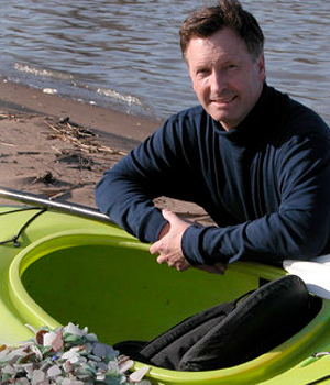 Richard LaMotte, Author of Pure Sea Glass